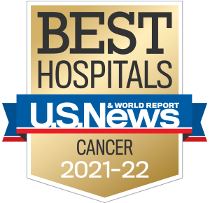U.S.News & World Report 2019-20 Best Hospital for National Cancer Treatment