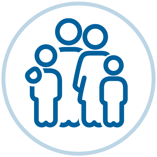 Family & Child Care Benefits and Resources icon